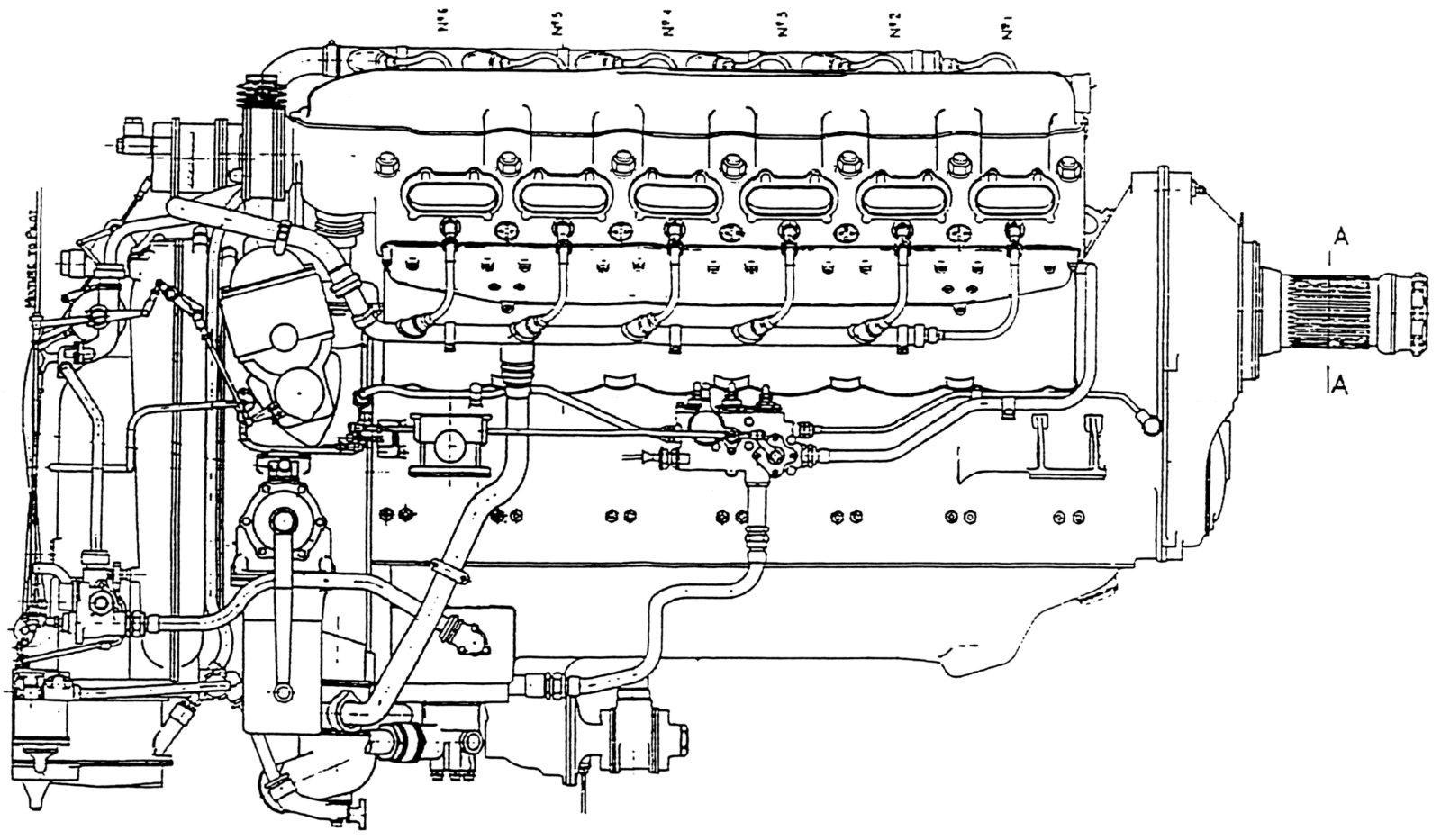 ramp head merlin rh enginehistory org Merlin Crate Engines www Rolls-Royce Merlin Engines